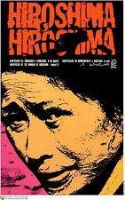 "Political POSTER""HIROSHIMA""Japanese Atomic Victim.WWII.Cold War Communist prop.5"