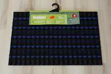 ZERBINO TAPPETINO Outdoor 020 blu 40x60 cm