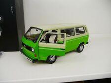 1:18 Schuco VW T3 Bus beige/grün 450038000 NEW