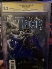 CGC UNIVERSAL GRADE 9.2 Thor Giant Size Finale Issue 1 Variant Edition Signed