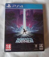 Agents of Mayhem day one Steelbook Edition Jeu PS4