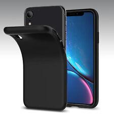 Black Matting TPU Silicone CASE Cover iPhone X  Xs Max iPhone XR 6 6S 7 8 PLUS