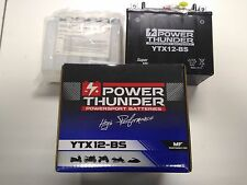 Bateria YTX12-BS | 12v 10Ah | Power Thunder | BTX12-BS | PTX12-BS | ¡Envio 24h!
