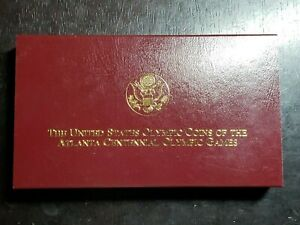 1995 W Five Dollar Gold Proof Atlanta Centennial Olympic With Box/COA - US Coins