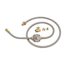 Gasmate NATURAL GAS CONVERSION KIT 120cm & 30cm Hose, Ball Valve & Regulator
