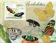 Guinea-Bissau Butterflies Stamps 2009 MNH Butterfly Insects 1v S/S