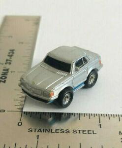 Micro Machines Galoob Mercedes-Benz '70's Mercedes-Benz 450SLC Silver w Blue