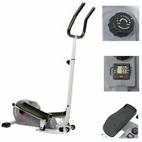 Sunny Health & Fitness Magnetic Standing Elliptical with Handlebars SF-E3988