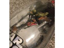 Star Wars ROTJ Titanium Series Die-cast~ Luke Skywalker's Speeded Bike