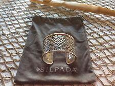 Silpada Heavy Sterling Silver Bold Cuff Bracelet B1697.