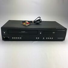 Magnavox DV220MW9 DVD VCR Combo Player 4 HEAD VHS Recorder No Remote Tested