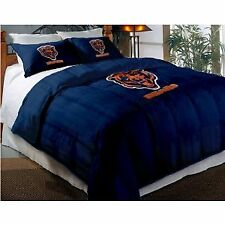 Chicago Bears NFL Twin Comforter Pillow Sham Set