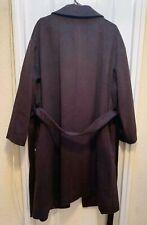 Marks and spencer ladies New Wool Coat/Jacket  UK SIZE 24 Dark brown