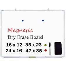 Office Pro Magnetic Dry Erase Board Marker Whiteboard Pens & 2x Magnets & Eraser