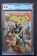TOMB OF DRACULA #9 FireCross 1973 Marvel Gene COLAN Wolfman Gil Kane CGC NM+ 9.6