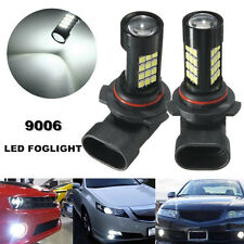2x 9006/HB4 42 SMD LED White Samsung 2835 Canbus Error Free Fog Light Bulb 6500K