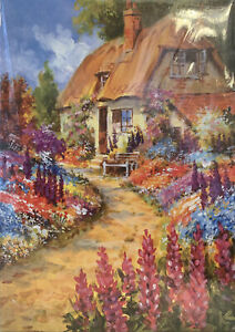 NEW Miles Kimball Jigsaw Puzzle English Cottage & Garden 750 Pc SEALED