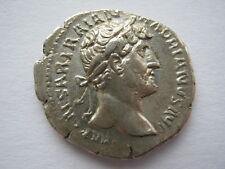 Roman Hadrian silver Denarius Rome circa AD123