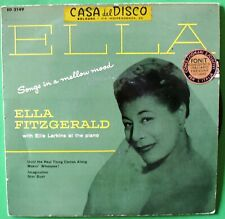Ella Fitzgerald - Songs in a mellow mood - 45 giri - ED 2149-B