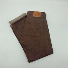 Red/Maroon Levis white oak cone denim Jeans Size 34x30