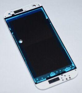 Original htc One Mini 2 M5 M8MINIn Display Frame LCD Frame Glacier Silver