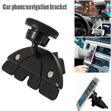 Car Mount Holder 360° Universal Stick On CD Slot Magnetic For GPS Mobile Phone