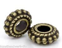 Großverkauf Bronze Spacer Perlen Zwischenteil 8x3mm