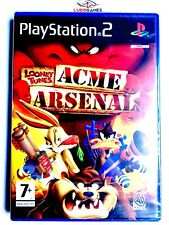 Looney Tunes ACME Arsenal PS2 Playstation Nuevo Precintado Sealed New PAL/SPA
