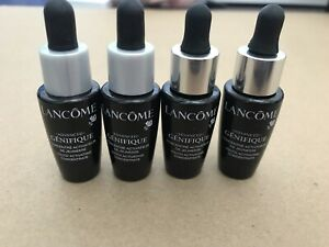4X Lancome ADVANCED GENIFIQUE Youth Activating Concentrate 0.27 oz Each New