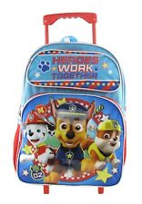 """New Paw Patrol 16/"""" Large Size Backpack Team Paw A17117"""