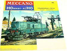 Meccano HOrnby acH0 Katalog H0 1963  å