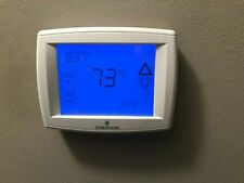 Emerson White Rodgers Thermostat 1F95-1291 Humidity Control Blue Touchscreen