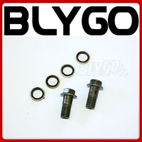 2X 10mm 22mm Hydraulic Brake Banjo Bolt 110cc 125cc 250cc PIT QUAD DIRT BIKE ATV