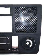 CARBON FIBER CLOCK DELETE PANEL for BMW 84-91  E30 325i 318i 325e