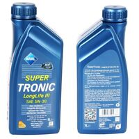 1 LITER ARAL SUPER TRONIC 5W-30 LONGLIFE III VW 50400 50700 BMW LL-04 MB 229.51