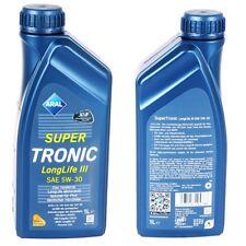 1 litros Aral Super Tronic 5w-30 Longlife III VW 50400 50700 bmw ll-04 MB 229.51