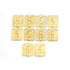 10Pcs Kitchen Cabinet Door 4 Holes Drawer Hinges Jewelry Box Furniture JU