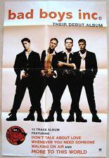 BAD BOYS INC.  debut album 1994 promo Poster  A&M Records