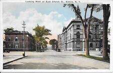 East Church St Elmira NY [Chemung County] nice postcard not postally used