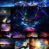 5D Full Drill Diamond Painting Space Starry Sky Embroidery Cross Stitch Kit Deco