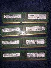 New listing Crucial 16Gb 4x4Gb Pc3-10600R Ddr3 Dell OptiPlex 790 780 580 990 980 Xps Memory