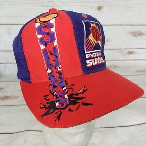 Vtg 80s 90s Phoenix Suns Embroidered 3D Snapback Baseball Hat