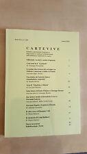 CARTEVIVE Bollettino Archivio Prezzolini Biblioteca Lugano XIV n. 33 Marzo 2003