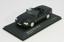 Minichamps 1/43 Mersedes-Benz 500 SL 1999 Black Limited