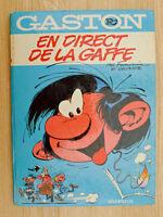 FRANQUIN Gaston Lagaffe R4 En direct de la gaffe EO