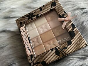 Physician's Formula Shimmer Strips Eyeshadow Palette Natural Nude With Brush