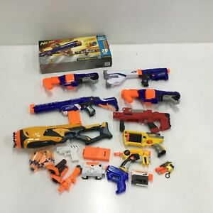Assorted Bulk Nerf Toys Untested Parts Only & Accessories #407