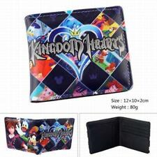 HOT! Anime Kingdom Hearts Short Leather Wallet Coin Purse Card Holder Cosplay #2