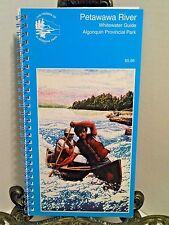 Rare Petawawa River Whitewater Guide Algonquin Provincial Park Canoe Canoeing