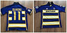 Maglia match worn shirt Parma calcio 2003/2004 indossata Alberto Gilardino